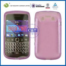 C&T transparent TPU case for blackberry phone 9790