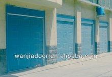 competitive price and good looking blue color garage door window