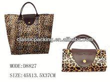 2013 new style euro tote shopping bag, non woven shopping bag with a small pouch,lamination nonwoven shopping bag