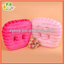 Massage cushion plush baby cushion plush U shape neck pillow/cushion