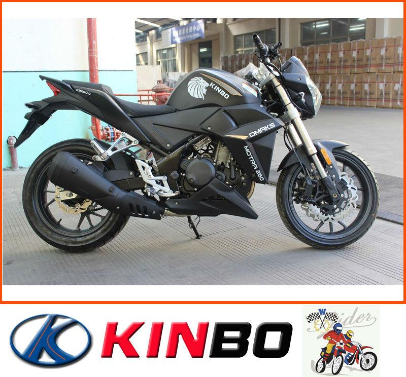 nuevo 250cc de la motocicleta