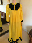 long anarkali shirt
