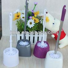 Bathroom Plastic Toilet Brush And Base