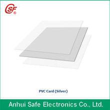 2013 fashion Hot sell inkjet A4 size white color printable pvc card/white pvc sheet