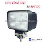 50W flood LED Work Light 12V 24V Jeep boat offroad 4WD truck working lamp 6000K