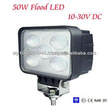 50W flood LED Work Light 12V 24V Jeep boat offroad 4WD truck working lamp 6000K