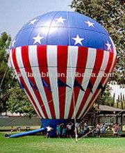 custom gaint 30' inflatable advertisment stars N' strips balloons