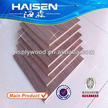 HS-BW8 natural black walnut mdf used building panels