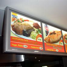 led menu light box outdoor for restaurant advertising,led menu light box manufacturer