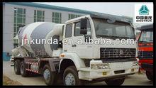 sinotruk small concrete mixing truck