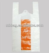 plastic vest carrier bags for shopping