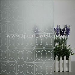 plastic sheets for windows self adhesive pvc wallpaper solar window films new design P033