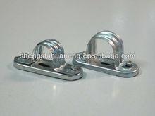 GI conduit spacer bar saddles