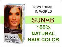 natural black powder hair dye