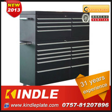 "Kindle High Precision 59"" heavy duty cold rolled steel tool box with ball bearing slides and powder coating surface. Guangdong."