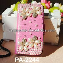 Jewelery Phone Bag Customized Designer Phone Housing with Leather