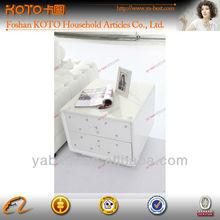 unique white end furniture telephone table