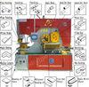Shanghai Jinsanli DIW series hole punch cutter machine hydraulic tools