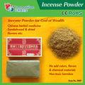 Moskitospule rohstoff& rotem sandelholz-pulver( ce/rohs)