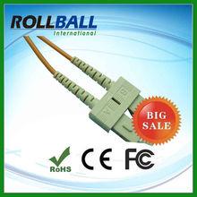 SM/MM optical fiber duplex cat5e & cat6 patch cord