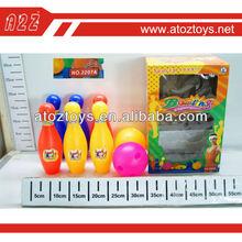 Kids Plastic Bowling Ball Toys (6 Pins + 2 Balls),Funny bowling ball set to play,Children imitation sport toys