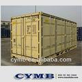 Lado abierto de contenedores para la venta