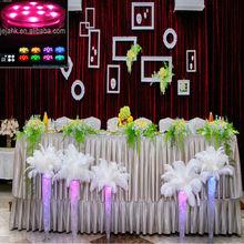 wedding LED lighted table Candelabra decorative centerpiece