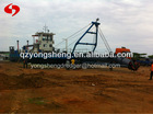 floating pontoon dredger in China