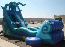 SXD49 inflatable octopus water slide