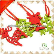 new fashion design felt ornament import/felt hanging
