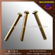 Dowel pin - CNC machining copper pin