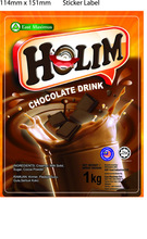 HOLIM Dark Hot Chocolate Powder