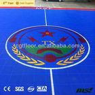 Promotion High Performance Hot sale Modular Mini environment friendly Anti-UV weatherproof basketball courts rubber flooring