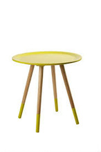 Modern design coffee table wood and MDF side table T-60