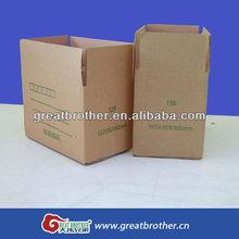 Rigid Corrugated Paper Box with Custom Design