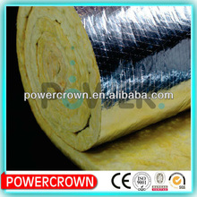 Cross Aluminum Foil Glass Wool Products, insulation materials/ kraft aluminium foil glass wool