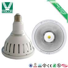 UL SAA lightest 310g IP65 used in the supermarket or outdoor 85v-265v led par38 light stage