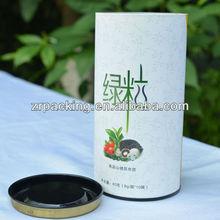 Custom paper tea tin storage containers