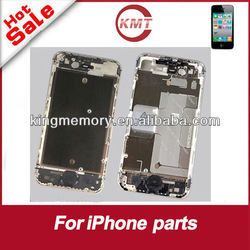 replacement silver mid frame completely for iphone 4S/4G mid plate with small parts