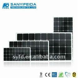 140w solar panel(TUV,IEC,ROHS,CE,MCS)