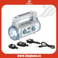 2013 novo multifunções crank lanterna com rádio e sirene