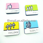 Custom soft pvc souvenir fridge magnet