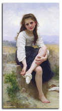 famous western figure girl oil painting arts on canvas