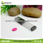 factory suppier New items crystal usb drive pen drive difference shape