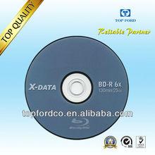 Blank DVD 6X 25GB Blu-Ray 50 Pack Blank Disc in Cake Box