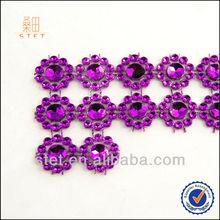 Wholesale Popular Sunflower Diamond Ribbon Wrap Wedding Decorations