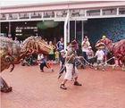 small size dinosaur costume for children games