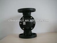 corrosive-resistant diaphragm valve K521 used in water treatment plant