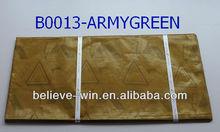 2013 newest guinea brocade fabric for bazin dresses(B0013-ARMYGREEN)