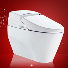 Ceramic Closestool Product Intelligent One Piece Toilet Floor Mounted online shopping